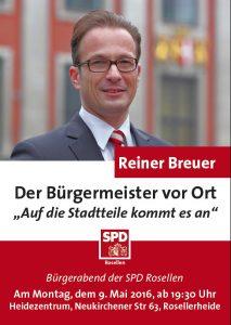 Plakat Reiner Breuer