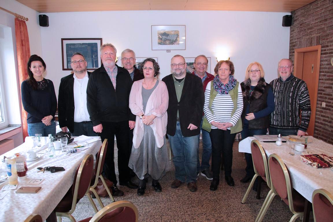 Vorstand der SPD Rosellen 2017
