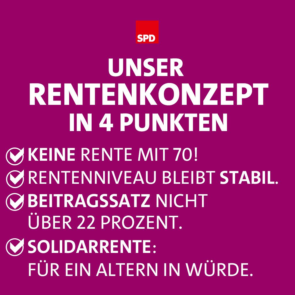 Rentenkonzept der SPD