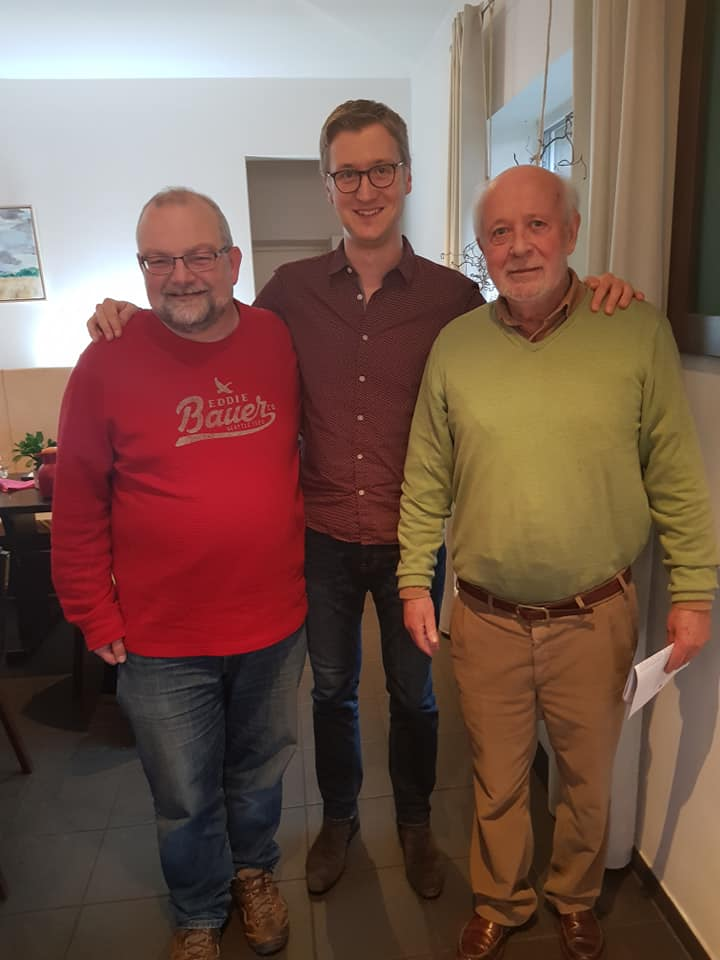 Ingo Stolz, Sascha Karbowiak, Ralph-Erich Hildebrandt (v.r)