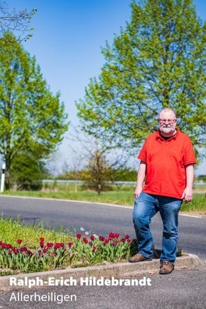 Tulpen mit Ralph-Erich Hildebrandt für Allerheiligen